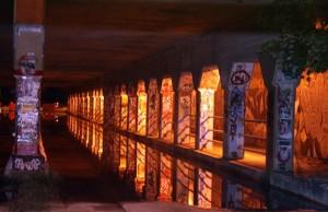 """""""Krog Street Tunnel Flood"""""""