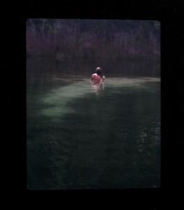Lake at Fall Self Lo BLK